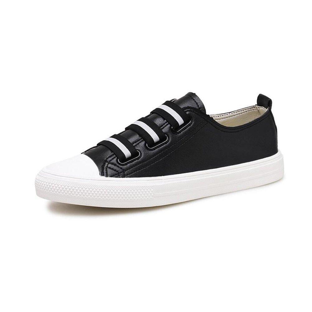 CJC Zapatillas de Entrenamiento de Fútbol Unisex para Adolescentes Zapatillas de Deporte para Hombre Zapatillas de Cordones (Color : Black, Tamaño : EU42/UK8.5) EU42/UK8.5 Black