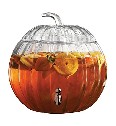 (Circleware Pumpkin Clear Glass Beverage)