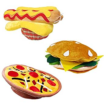 Food Hats - Cheeseburger Hat - Grill Theme Hats by Funny Party Hats