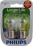 Philips 12499 LongerLife Miniature Bulb, 2 Pack