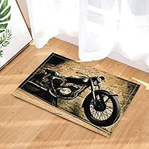 Amazon.com: gohebe Retro decoración de Man Cave Viejo moto ...