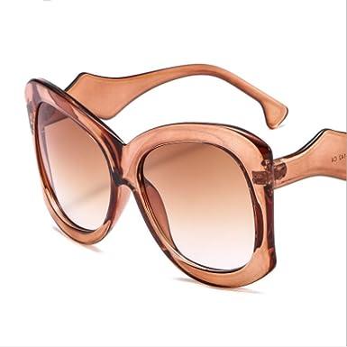 MNGF&GC Nuevas gafas de sol grandes de la caja de color ...