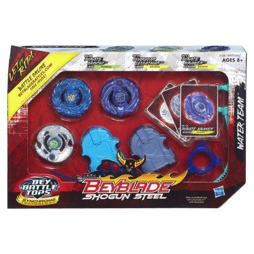Beyblade Shogun Steel Battle Tops Water Team Set Toy, Kids, Play, Children
