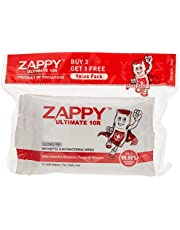 Zappy Ultimate Antiseptic 10R Wipes Value Pack, 10 ct (Pack of 4)