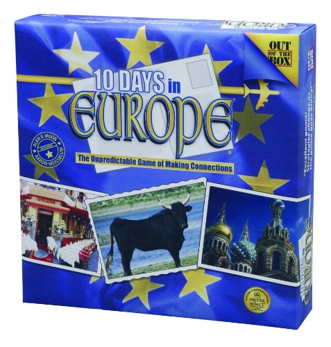board game 10 days in europe - 2