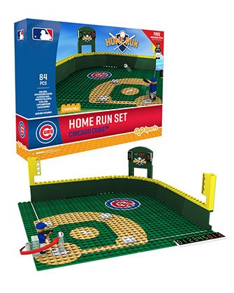 Chicago Cubs OYO Home Run Derby Set with Mini Figure