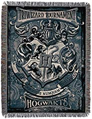 "Harry Potter Woven Tapestry Throw Blanket, 48"" x 60"","
