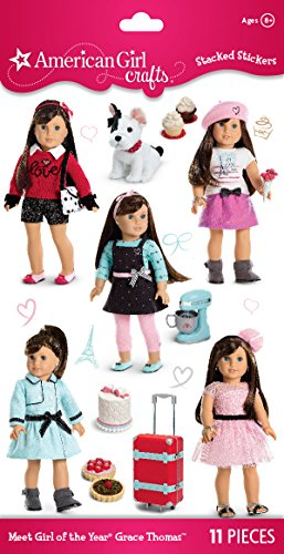 American Girl Stickers - American Girl Crafts Girl of The Year 2015 Stacked Stickers