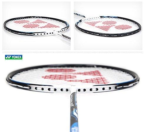 Yonex NANORAY 10F NEW Badminton Racket 2017 Racquet Blue 4U/G5 Pre-strung with a Half-length Cover (NR10F-BLUE) by Yonex (Image #2)