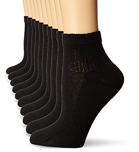 Hanes Women's Ankle Sock (Pack of 10)
