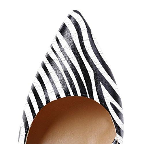 Talons Grande Femmes Zèbre uBeauty Chaussures Chaussures Aiguille Escarpins Femme Talon Stilettos Taille 4TqYqv5w