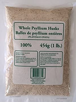 Psyllium Husk Whole 454g10lb Amazonca Health Personal Care