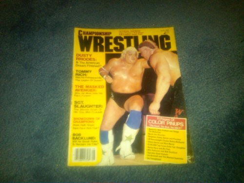 Championship Wrestling August 1985 WWE WWF WCW TNA ECW NWO NWA AWA (