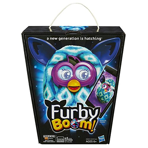 51o8NDJo7SL - Furby Boom Blue Diamonds Plush Toy