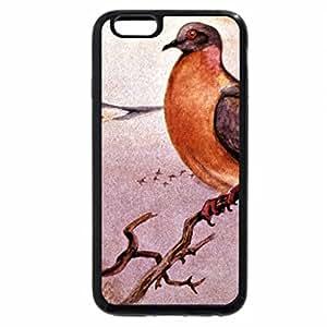 iPhone 6S / iPhone 6 Case (Black) Passenger pigeon extinct:1914