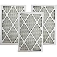 Think Crucial 3 Replacements for 12x24x1 MERV 11 Allergen Air Furnace & Air Conditioner Filter, Pleated