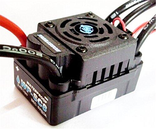 Hobbywing EZRUN WP SC8 120A Speed Controller étanche Brushless pour RC Car Truck Court