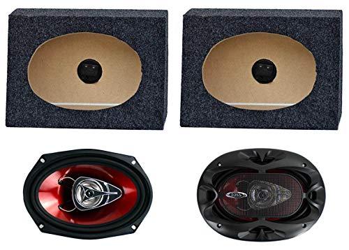 truck behind seat speakers - 2
