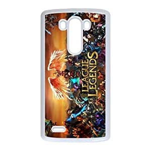 League Of Legends LG G3 Cell Phone Case White Exquisite gift (SA_563898)