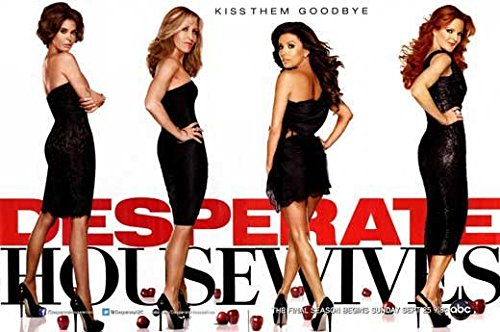 Desperate Housewives Poster TV Y Teri Hatcher Felicity Huffman Marcia Cross Eva Longoria Nicolette