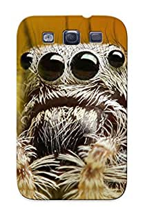 Markrebhood VMRFEka3248UQrtD Case For Galaxy S3 With Nice Jumping Spider Appearance
