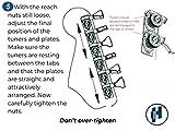 Hipshot Grip-Lock 6 inline Enclosed 21mm Post