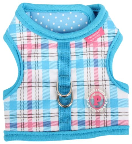 Pinkaholic New York Kayla Pinka Harness for Dogs, Blue, Large, My Pet Supplies