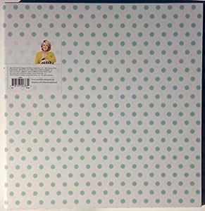 "Office by Martha Stewart 1"" Binder 11 1/4 X 1 5/8 X 11 1/2, 3-Ring, Printed Stripes (28797) (Poka Dots Aqua (28871))"