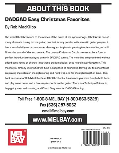 Amazon Dadgad Easy Christmas Favorites 9780786699582 Rob
