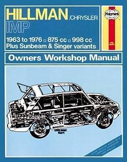 Hillman Imp Petrol (63-76) up to R Haynes Repair Manual (Classic