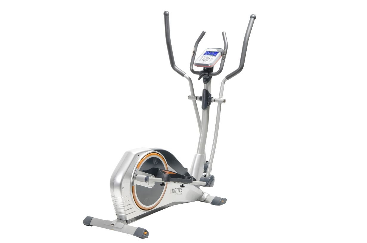 U.N.O. Fitness Crosstrainer XE 100, Silber