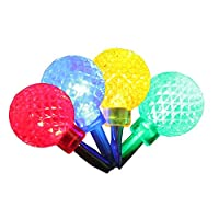Product Works UltraLED Battery Operated Rasberry Twinkle Light String, Multi-Color, 3.5-Feet