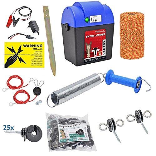 8 opinioni per Kit Recinto elettrico Extra Power con filo ed accessori, recinti elettrici,