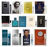 12 Men's Designer Cologne Sample Vial