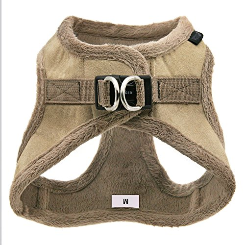 Product image of Voyager Soft Harness for Pets - No Pull Vest, Best Pet Supplies, Extra Large, Latte Suede