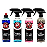 Adam's 16 oz Best Sellers Kit - Our Top Selling Products Bundled Together - Clean, Shine, and Protect Your Vehicle