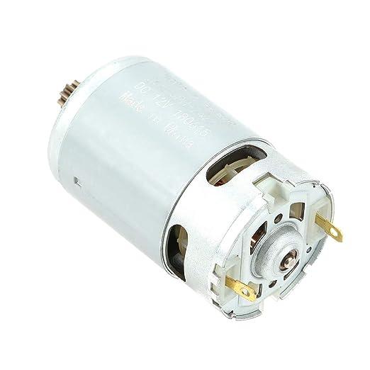 Motoriduttore motoriduttore elettrico in ottone ad alta coppia micro motoriduttore epicicloidale DC 12V motoriduttore con riduttore di velocit/à elettrico DC 30rpm 30 rpm//60 rpm//100 rpm200 rpm