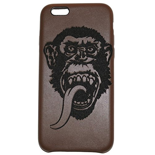 gas-monkey-custom-engraved-on-a-brown-pu-leather-phone-case-for-iphone-6-and-6s-iphone-6-6s-brown