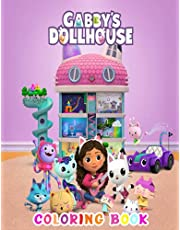 Gabby's Dollhouse Coloring Book: A Perfect Item For Kids | Great Gift For Your Kid, For Gabby's Lovers High Quality Characters With Good Design.