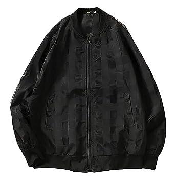Men Jacket Home Chaquetas Cortavientos a Cuadros con ...