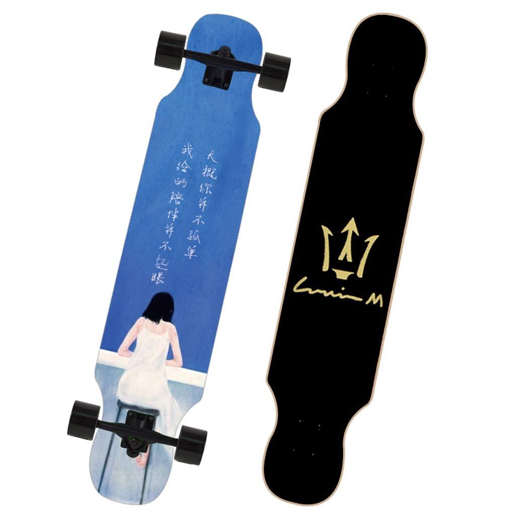 【数量は多】 B07NRVFX99 DUWENDUWEN スケートボードメープルダンスボードティーンブラシストリートトラベル男の子と女の子スクーター初心者入門プロのスケートボード B07NRVFX99, Fel i c e  f i o r i M:21a0d407 --- a0267596.xsph.ru