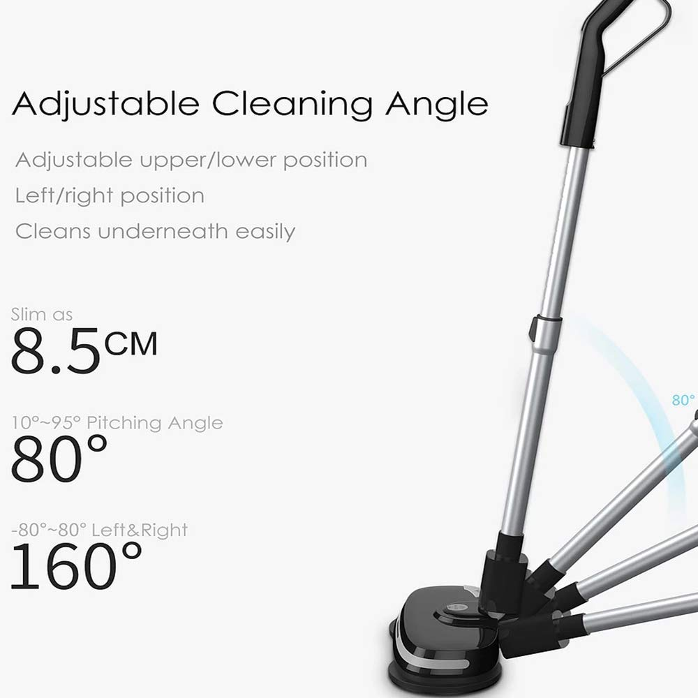 Electric Mops for Floor Cleaning -Mamibot Mopa580 Power Fresh 3-in-1 Multifunctional Cordless Electric Polisher waxer mop for All Flat Hard Floor Cleaning Marble Tile with Adjustable Handle by Mamibot (Image #9)