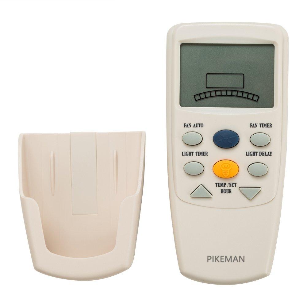 Ceiling Fan Remote Control Thermostatic LCD W Fan Timer replace Hampton Bay FAN-9T L3HFAN9T -Pikeman by PIKEMAN (Image #2)