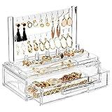 mDesign Plastic Jewelry Organizer Storage