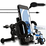 iTALKonline Huawei Ascend G500 Black Custom Dedicated In Car Spring Mount Clip Air Vent Holder (Case Compatible) Cradle Includes 1000mAh Micro USB In Car Charger