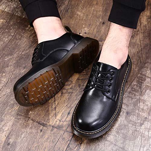 Shukun Herren Stiefel Martin Stiefel Men's Tooling schuhe schuhe schuhe Men's Low-Cut Stiefel Casual schuhe Men's Retro Tooling Stiefel schuhe c3a521