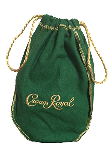 String Bean Costume (Crown Royal Green Bag Regal Apple with Golden Drawstring)