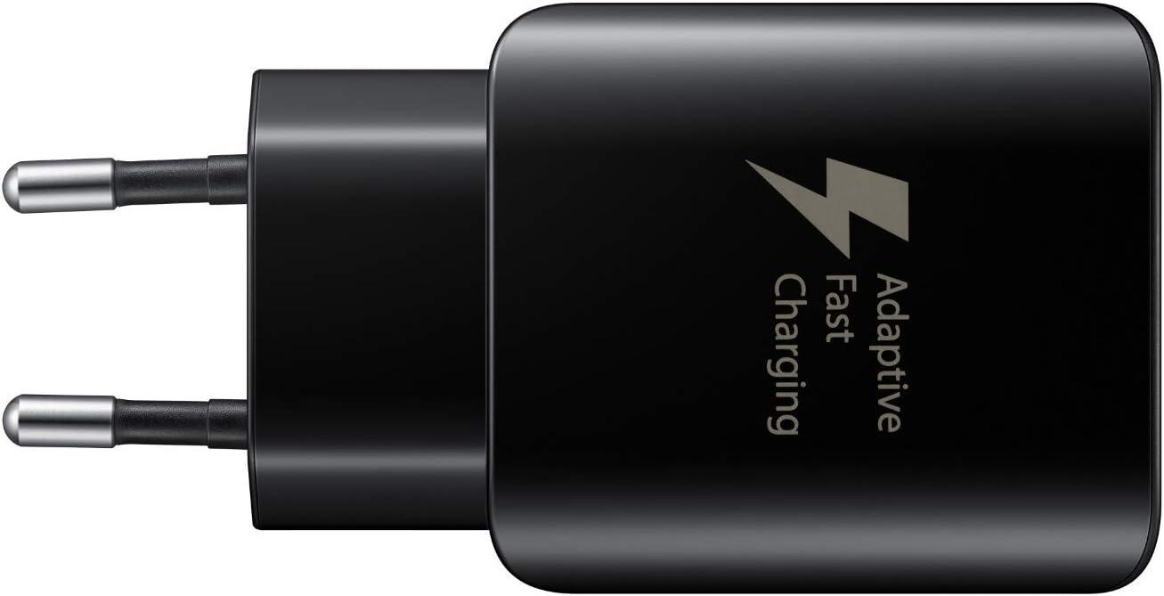 Samsung - Cargador con función de Carga rápida (EP-TA300), Color Negro