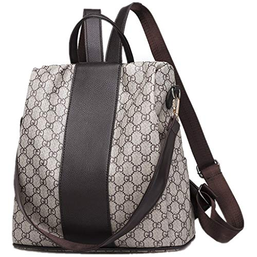 GTESCO Fashion Backpack For Women, Womens Designer Leather Backpacks Purse Bag ()