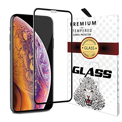 Premium Tempered Glass Protector for iPhone XR Screen Protector 6.1 Inch High Transparent 9H Hardness 3D Arc Edge Full Coverage Anti Scratch Fingerprint 1Pack